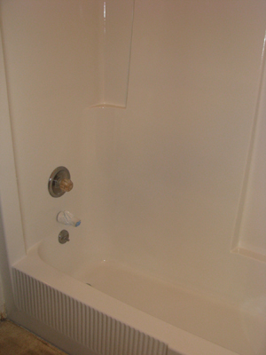 bathtub glazing