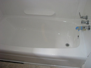 tub glazing